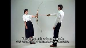 Marina Abramovic - ARTIST IS PRESENT (La muraglia cinese) - YouTube
