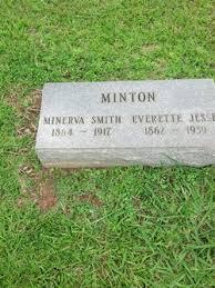 Minerva Smith Minton (1862-1917) - Find A Grave Memorial