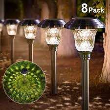 lighting time solar garden lights path