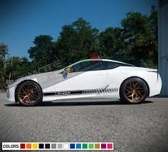 2x Sticker Decal Vinyl Side Stripe Body Kit For Lexus Lc 2017 2018 2019 Sport Turbo Lexus Lc Lexus Vinyl Siding