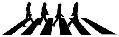 Beatles Abbey Road Wall Sticker 44 X150 Contemporary Wall Decals By Masquevinilo