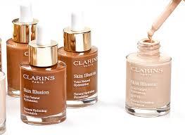 clarins skin illusion foundation the
