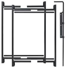 Adjust A Gate 47 In H 60in 96 In W Original Series 2 Rail Adjustable Double Drive Kit Ag60 Dd The Home Depot In 2020 Adjust A Gate Gate Kit Gate Hardware