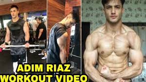 asim riaz gym workout video asim riaz