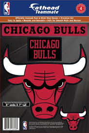 Fathead Chicago Bulls Logo Wall Decal Dick S Sporting Goods