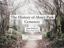 The History of Abney Park Cemetery - John Baldock, Abney Park Trust