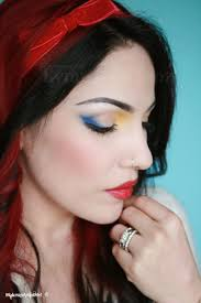 snow white inspired makeup tutorial