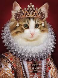 Renaissance pet portrait,Regal pet portrait,Royal Pet Portrait,Custom  portrait,Unique gifts,dog gift,Pet art,Fine Art print or Digital file in  2020   Cat art, Cats illustration, Pet portraits