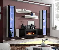 idea m2 tv wall unit with fireplace