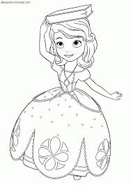 Cumpleanos Decorado De Princesa Sofia Colorear Princesas