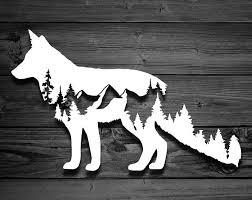 Bear Decal Car Decals Mountain Stickers Laptop Decal Etsy Mountain Decal Nature Decal Scroll Saw Patterns