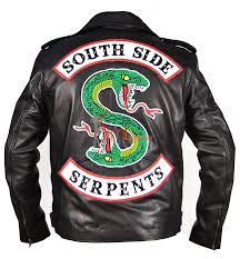 jughead southside serpents leather