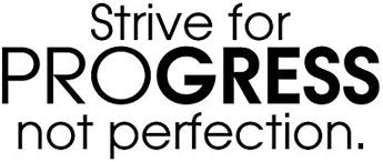 Amazon Com Wall Vinyl Decal Strive For Progress Not Perfection Health Training Motivation Workout Gym Fitness Heart Life Family Love House Together Quotes Vinyl Decor Sticker Home Print Wd7774 Home Kitchen