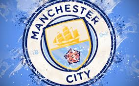 manchester city logo 4k ultra hd