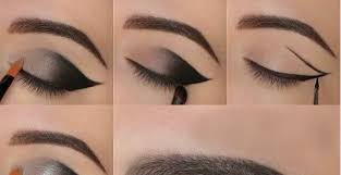 how to recreate the smoky cat eye flick