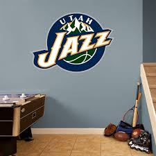 Utah Jazz Logo Real Big Fathead