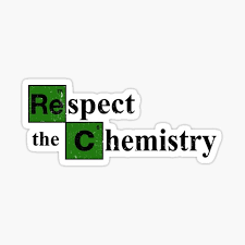 Respect The Chemistry Stickers Redbubble