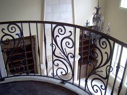 Shaped Wrought Iron Stair Railings Interior Stairs Decoration Bookshelf Steps Home Elements And Style Patio Bench Nesting Tables Chaise Curtain Tie Backs Parts Prefabricated Crismatec Com