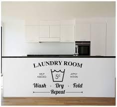 Laundry Room Door Decal The Vinyl Creations Laundry Room Etsy