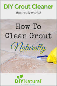 how to clean grout a natural diy grout