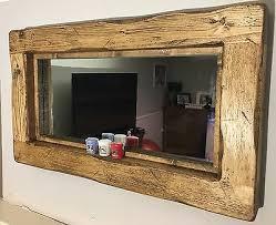mirror reclaimed mirror english oak