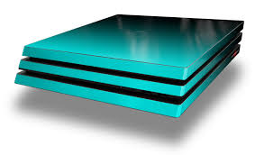 Wraptorskinz Ps4 Pro Skin Wrap Smooth Fades Neon Teal Black Decal Style Skin Fits Sony Playstation 4 Pro Console Walmart Com Walmart Com