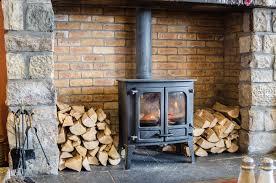 wood burning stove installation costs