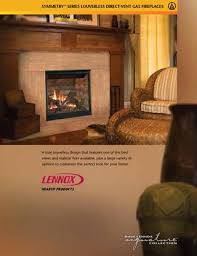 lennox hearth symmetry brochure 785249m