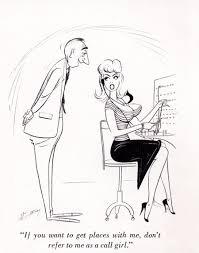 mid century magazine cartoons