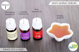 4 diy face serums for aging acne and
