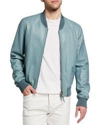 ribbed leather jacket neiman marcus