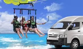 cancun parasailing w transport