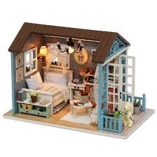 Mô Hình Nhà Gỗ Diy Nhà Búp Bê Nhà Búp Bê Mini DIY Nhà Bộ chỉ ...