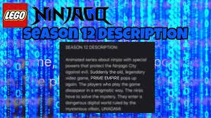LEGO Ninjago: SEASON 12 DESCRIPTION!! - YouTube