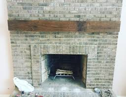 brown color modern wall box beam mantel
