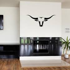 Bull Cow Head Skull Wall Stickers Ranch Hunting Decal Vinyl Adhesive Modern Diy Art Mural Home Living Room Wall Decals Modern Wall Stickers Monkey Wall Decals From Onlinegame 10 95 Dhgate Com