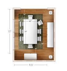 ideas advice what size dining table