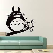 Totoro And Friends Art Vinyl Wall Art Decal