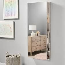 full length mirror with storage