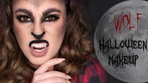 wolf halloween makeup tutorial you