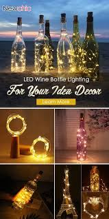 led wine bottle light for your home