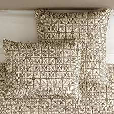 lockley natural quilted trellis cotton