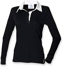 long sleeve classic rugby shirt