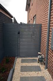 Side Aluminium Gate House Front Gate Yard Gate Aluminium Gates