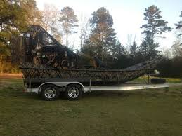 2016 mark robicheaux custom airboat for