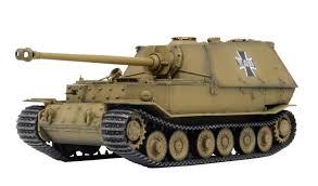 Platz 1 35 Girls Und Panzer Der Film Panzerjager Jagdpanzer Elefant Kuromorimine Girls High School With Battle Damage Decal Trackable Shipping Japan New Export From Japan Zipang Hobby
