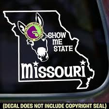Missouri State Vinyl Decal Sticker Gorilla Decals