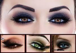 smokey eyes makeup step by step