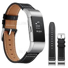 genuine leather coated watch band for