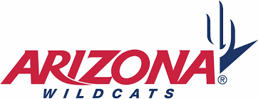 arizona wildcats football wordmark